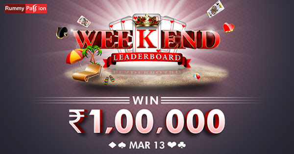Weekend Leaderboard (13 Mar)