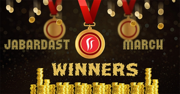 Rummy Leaderboard - Top Ten Winners at Rummy Passion in March 2017