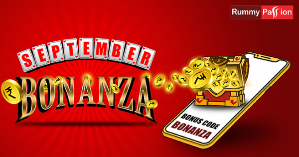 September Bonanza Bonus at Rummy Passion